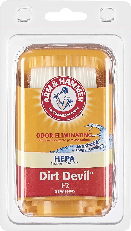 Arm & Hammer Dirt Devil Style F2 HEPA Vacuum Filter