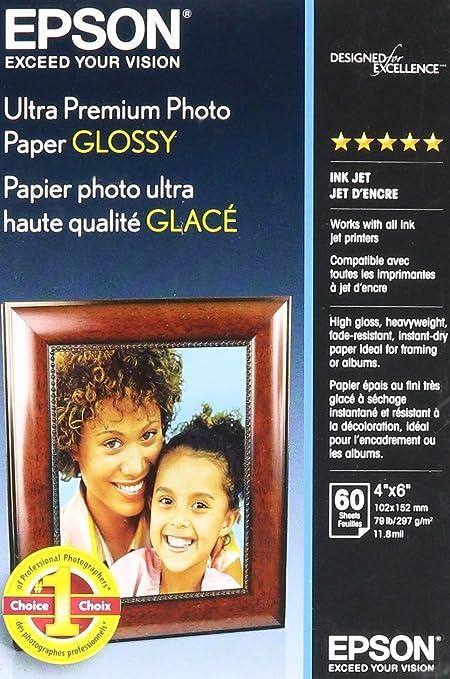 Epson Ultra Premium Photo Paper Glossy 4 x 6