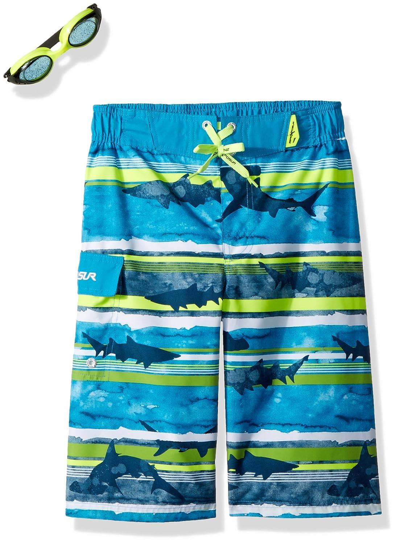 ずっと気になってた ZeroXposur SWIMWEAR Stripe ボーイズ B076BXRDRD SWIMWEAR Aqua B076BXRDRD Stripe 14-16 14-16|Aqua Stripe, 2019年激安:224ea31d --- arianechie.dominiotemporario.com