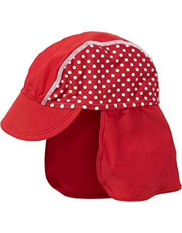 9ee6f945a57 Playshoes Girl s UV Sun Protection Polka Dot Swim Sun Hat Cap.  3