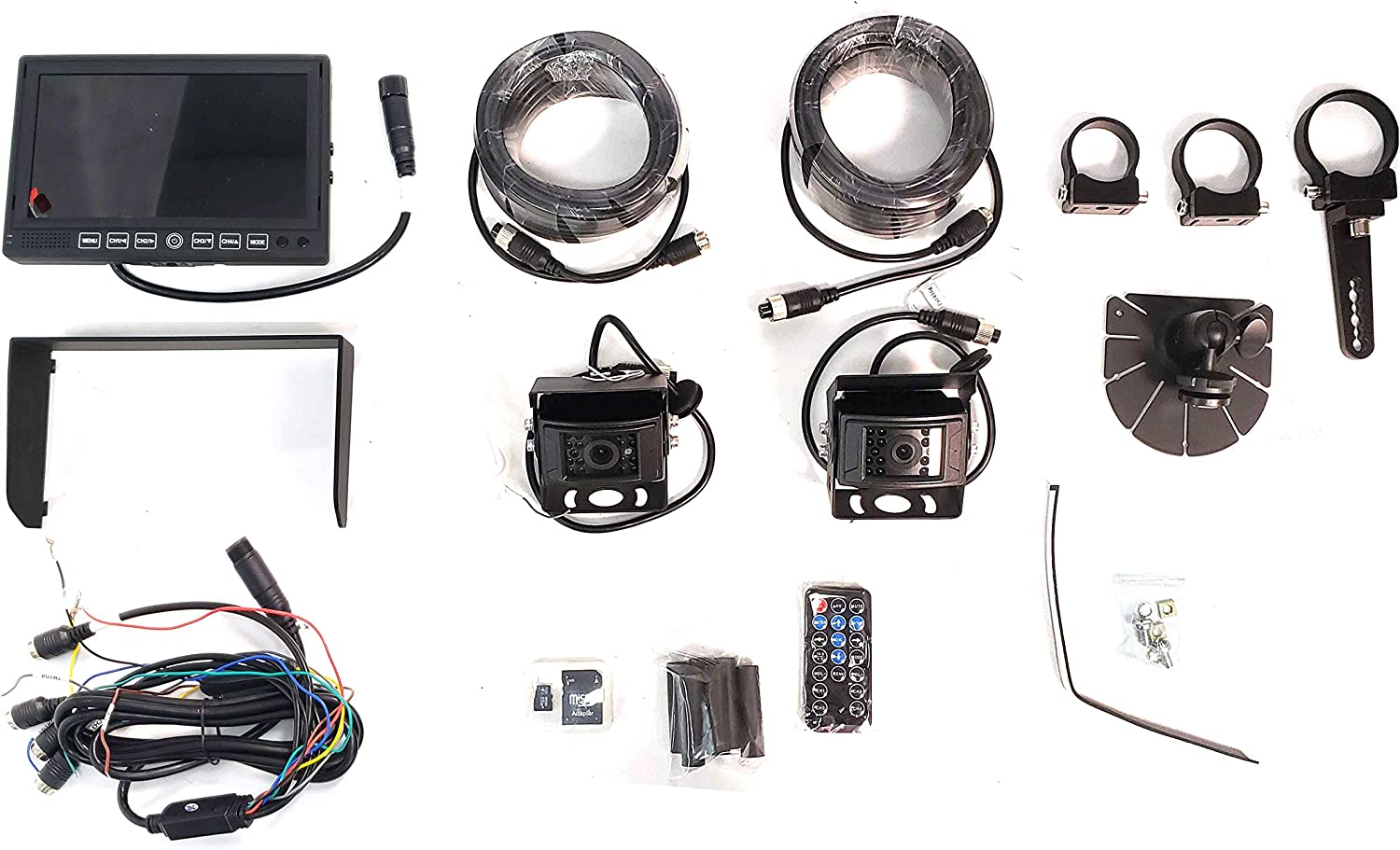 Brandmotion SUTV-1020V2 SummitView UTV//Rockcrawler Dual Camera DVR System