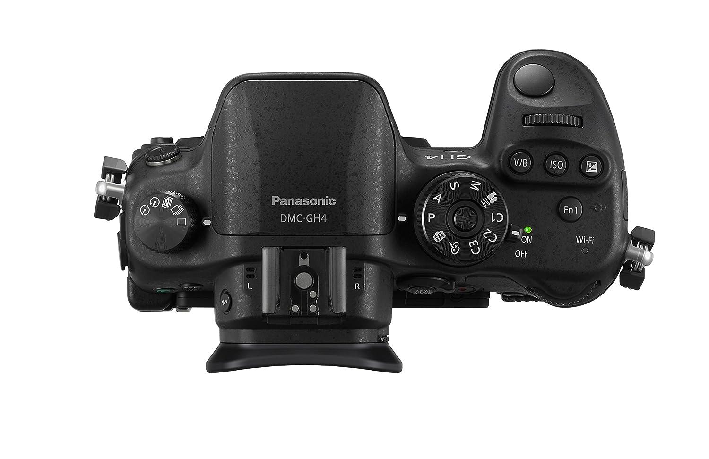 Panasonic LUMIX G DMC-GH4UE-K Systemkamera schwarz: Amazon.de: Kamera