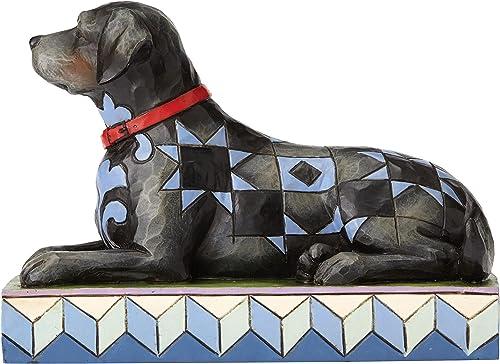 Jim Shore Heartwood Creek Onyx Black Labrador Retriever Figurine 4056946 Dog Pet