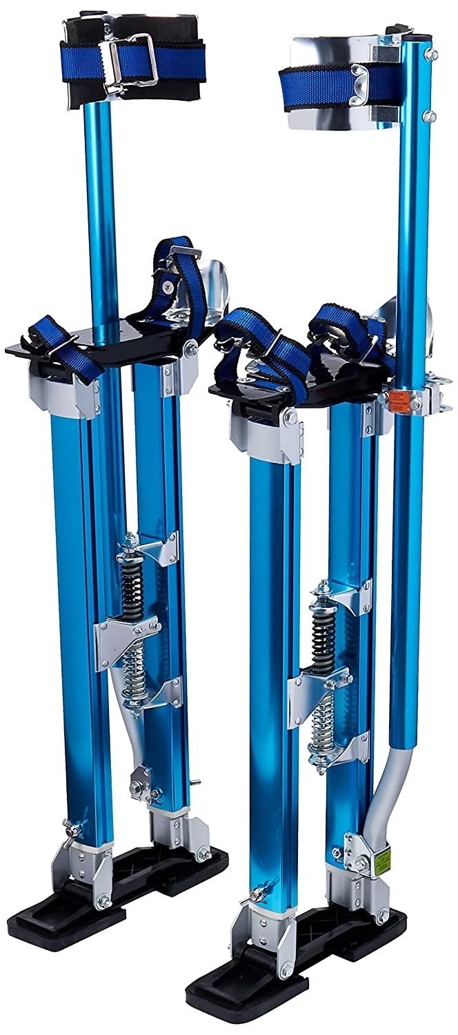 Pentagon Tools 1121 Drywall Stilts 24 to 40 Height, Blue by Pentagon Tools B001R51ZW4