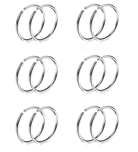 Jewelry & Accessories Body Jewelry Trustful Jforyou 3prs Non Pierced Stainless Steel Clip On Closure Round Ring Fake Nose Lip Helix Cartilage Tragus Ear Hoop 20g