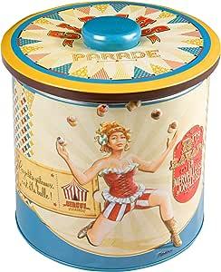 Natives 511440 Circus Parade-le Jongleur Caja de Galletas Metal 15 x 15 x 15 cm, Multicolor: Amazon.es: Hogar