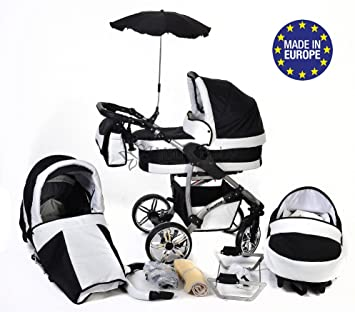 7051a6795789d 3-in-1 Travel System with Baby Pram