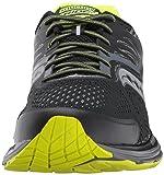 Saucony Men's Ride 10 Running Shoe, Black