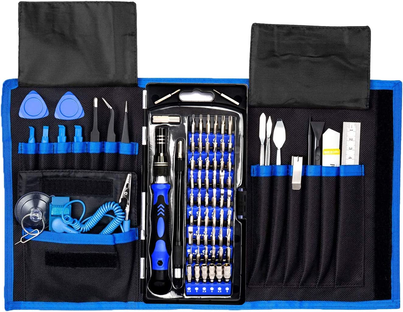 Precision Computer Repair Tool Kit, Professional Electronic Screwdriver Set, with a Small Torx Screwdriver, Suitable for Laptop, MacBook, iMac, PC, Cell Phone, iPhone and Other Electronics Maintenance