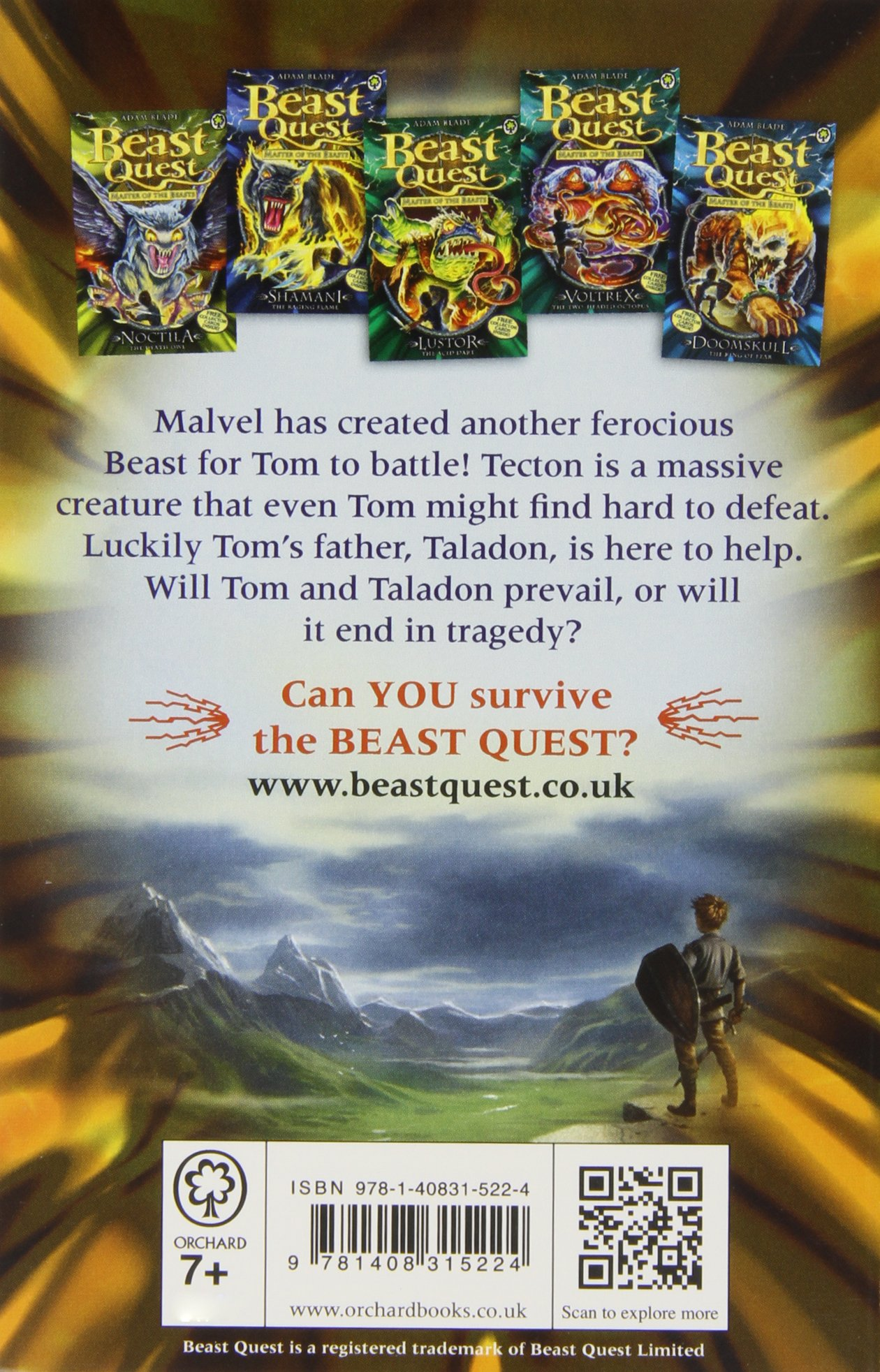 Tecton the Armoured Giant: Series 10 Book 5 (Beast Quest 59)