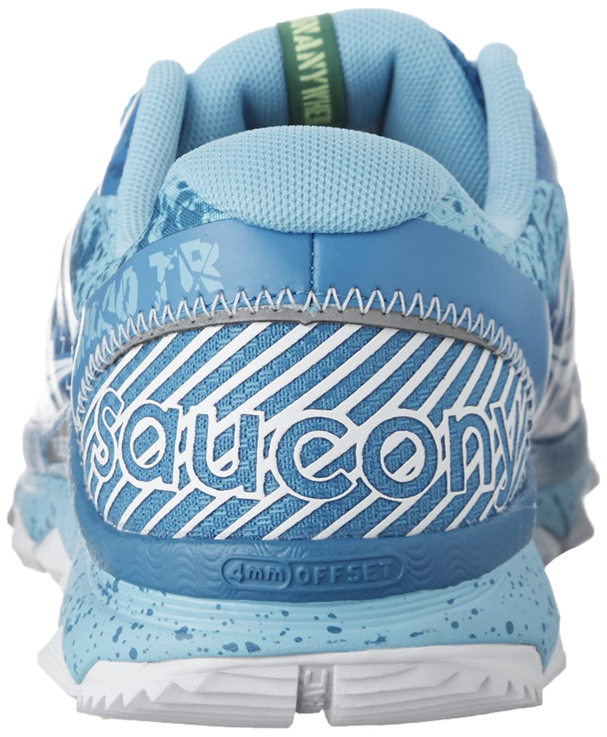 Saucony Women's Nomad TR Trail Running Shoe B00ZVDLYW4 8.5 B(M) US|Blue | White