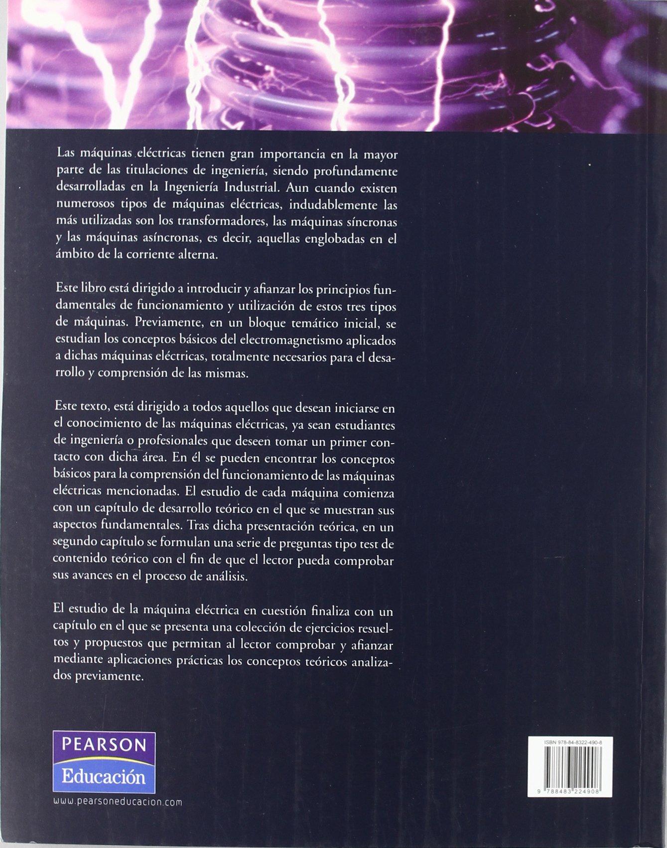Guía de autoaprendizaje de máquinas eléctricas: Amazon.es: Javier Mazón: Libros