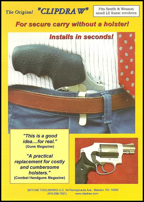 JF der Original clipdraw für Smith & Wesson j-frame Revolver ...