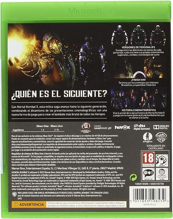 Mortal Kombat X - Standard Edition: Amazon.es: Videojuegos