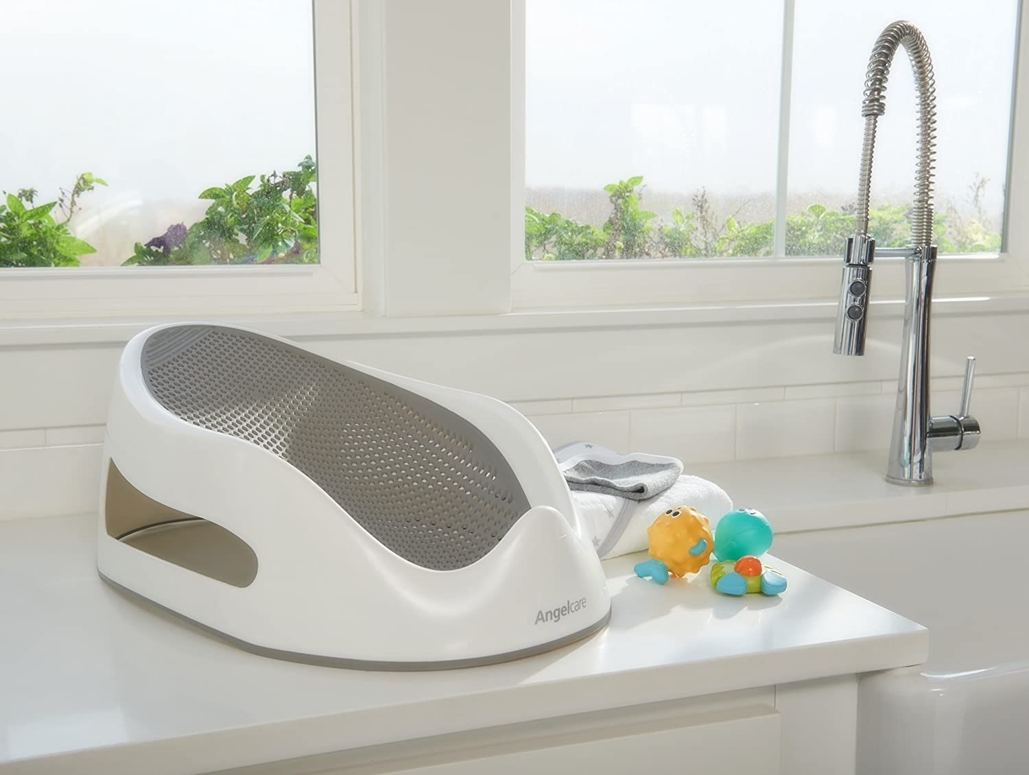 Angelcare Baby Bath Support, Grey