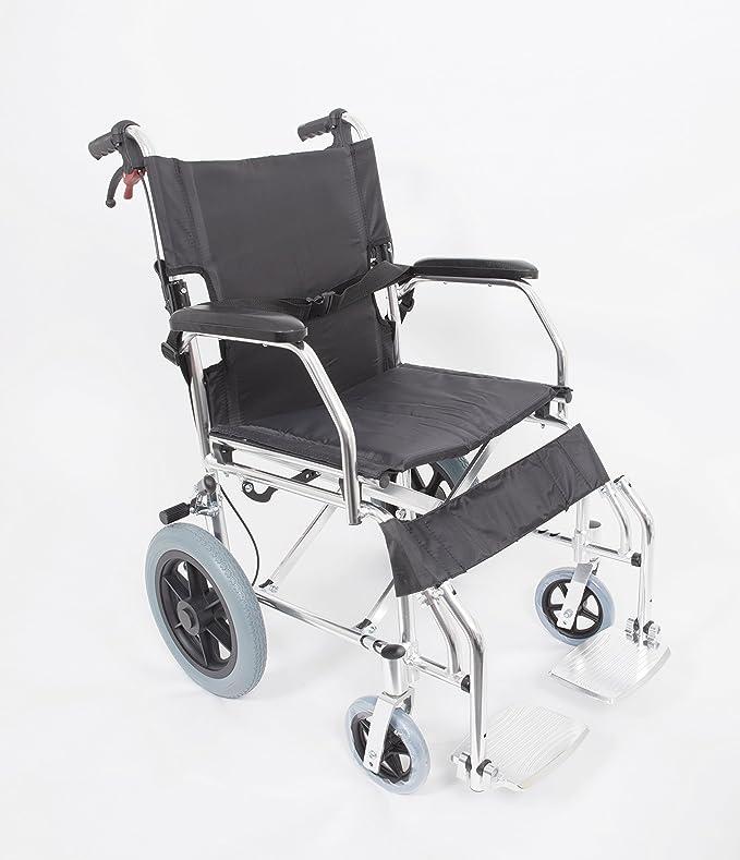 amw1863 lightweight folding transit wheelchair amazon co uk health