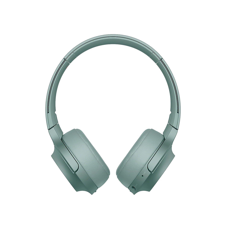 Sony WHH800 - Auriculares de Diadema inalámbricos (H.Ear, Hi-Res Audio, diseño Ligero, Bluetooth, Compatible con aplicación Headphones Connect) Verde: ...