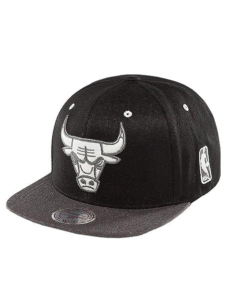 Mitchell & Ness Mujeres Gorras / Gorra Snapback NBA 2-Tone Logo Chicago Bulls
