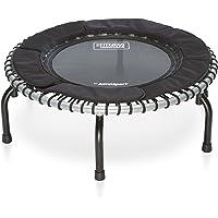 JumpSport fitnesstrampoline premium minitrampoline - indoor trampoline voor gezondheid, fitness, weldadig gewicht - incl…