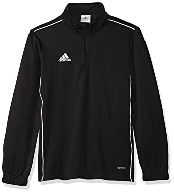 eabbe7d1f adidas Unisex Youth Soccer Core18 Training Top, Sweatshirts & Hoodies -  Amazon Canada