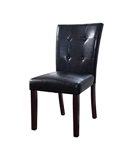 Amazoncom Best Master Furniture Dining Chair Black Chairs