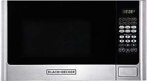 BLACK+DECKER EM925AME-P1 Microwave.9 cu. ft