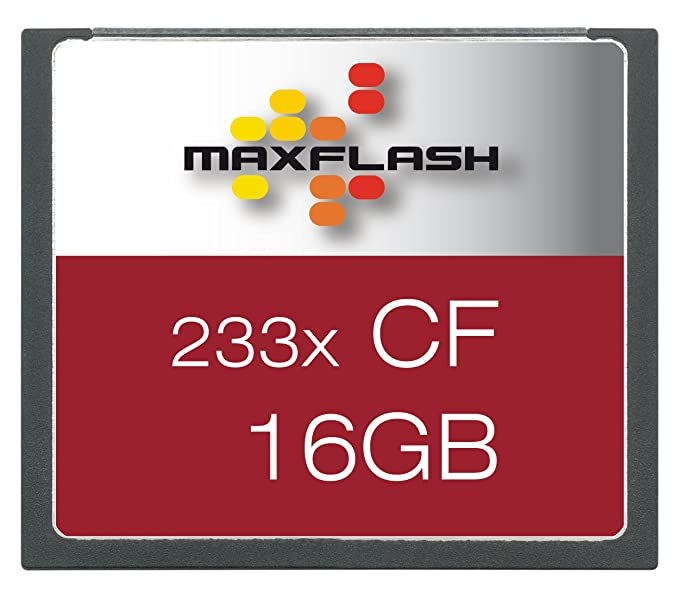 MaxFlash Compact Flash Card 16 GB 16GB CompactFlash Memoria Flash ...