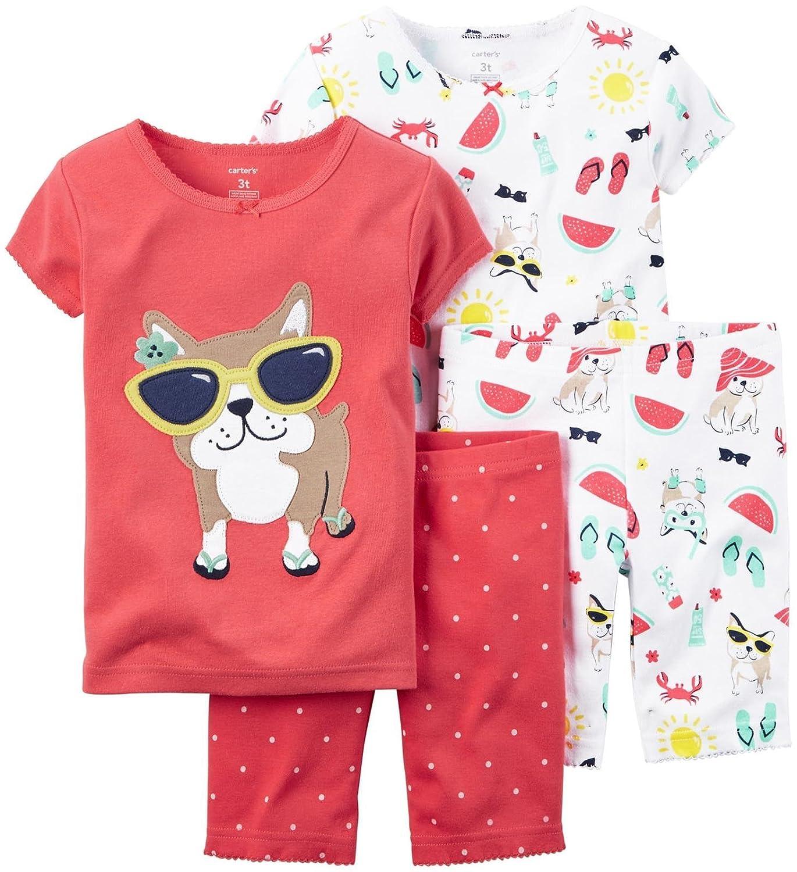 本物の カーターズ Carter's& パジャマ 半袖& 半ズボン (61-67cm) 綿リブ100% PJs 2組セット 4-Piece Snug Fit Cotton PJs 6M (61-67cm) B01B8FBOC8, select shop HK/エイチケー:fd99e20c --- a0267596.xsph.ru