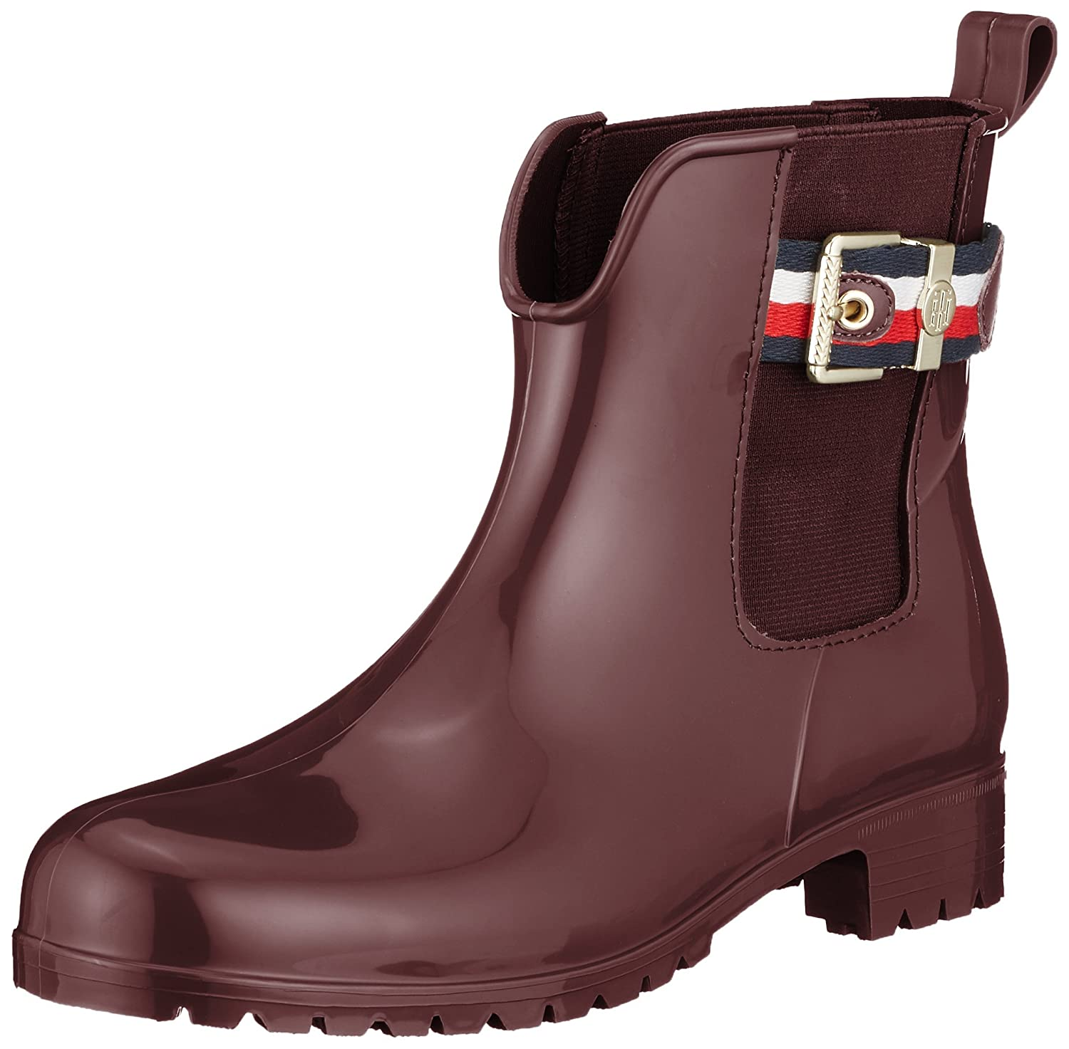 e1fdc3808b Tommy Hilfiger Corporate Belt Rain Womens Wellington Boots