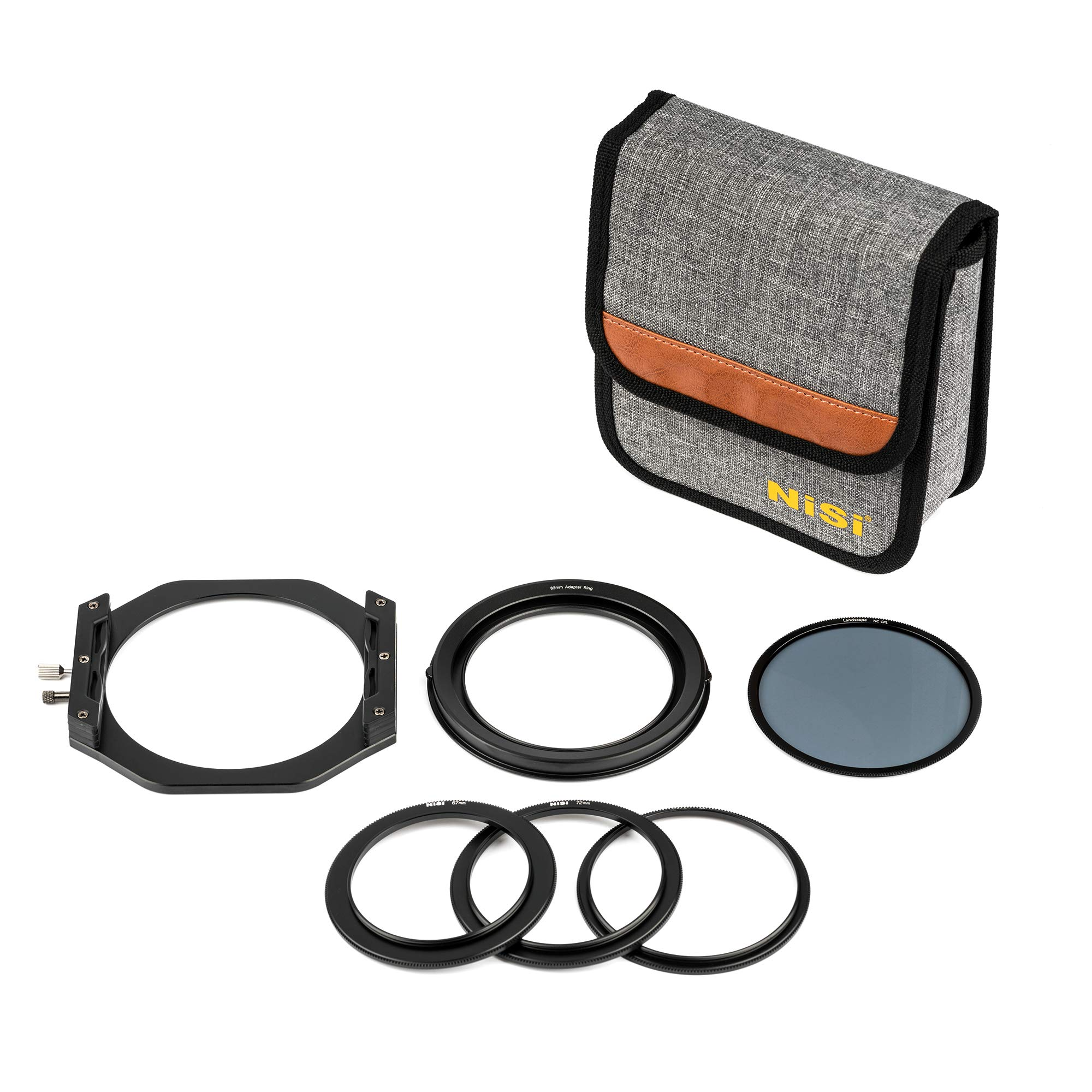 NiSi V6 Filter Holder Kit - 100mm System with Pro CPL & Adapter Rings (NIP-FH100-V6)