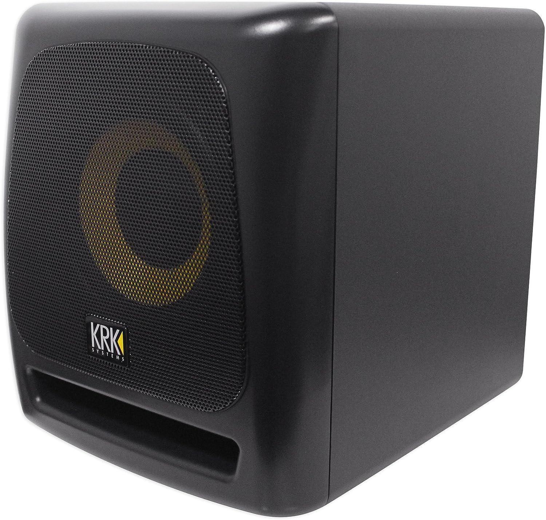 KRK 8S v2 8 109w Powered Studio Subwoofer Sub+Presonus Professional Headphones