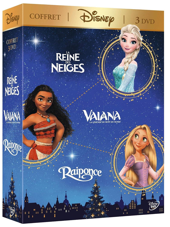 Vaiana, la légende du bout du monde + Raiponce + La Reine des ...