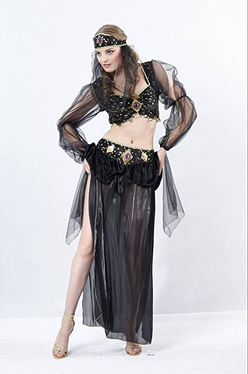 Disfraz bailarina egipcia adulta: Amazon.es: Juguetes y juegos