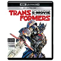 Transformers: The Ultimate 5 Movies Collection - Transformers (2007) + Revenge of the Fallen + Dark of the Moon + Age of Extinction + The Last Knight (4K UHD) (5-Disc Box Set)