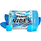 Trident Vibes Peppermint Wave, 6 Count, 40 Pieces Bottle
