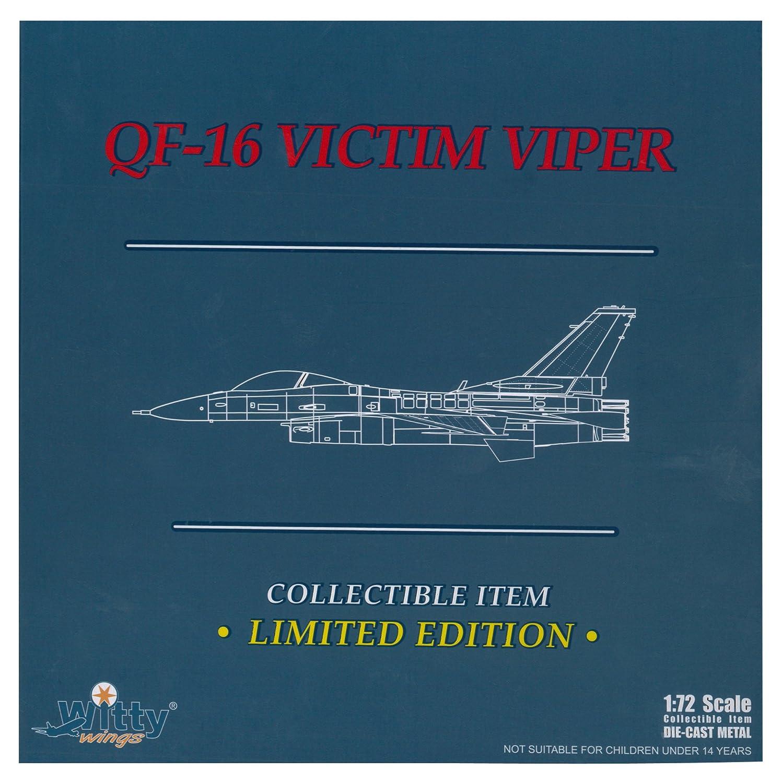 Witty Wings 1/72 QF-16 prueba Latina 53 Escuadrn 53 evaluacin arma de la Fuerza Area (Japn importacin / El paquete y el manual estn escritos en japons)