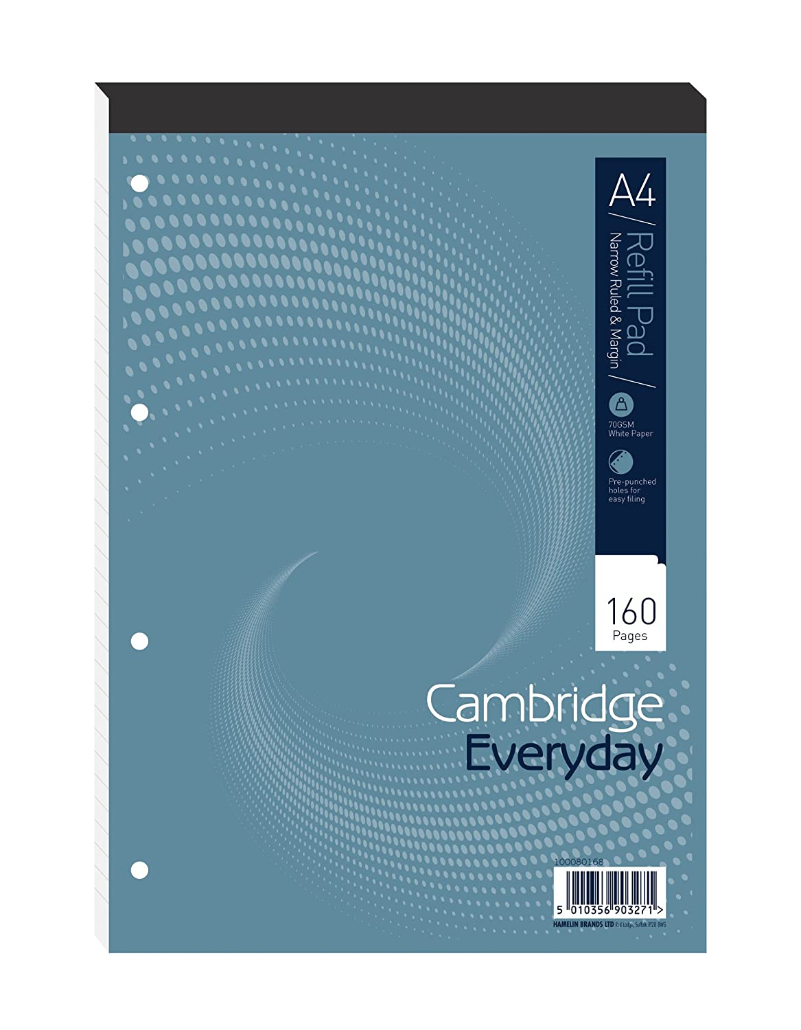 Cambridge Everyday 160 Pages Narrow Ruled Refill Pad - Pack of 5 ...