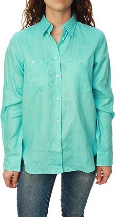 Botón de Ralph Lauren verde adhesivo de la camisa de las ...