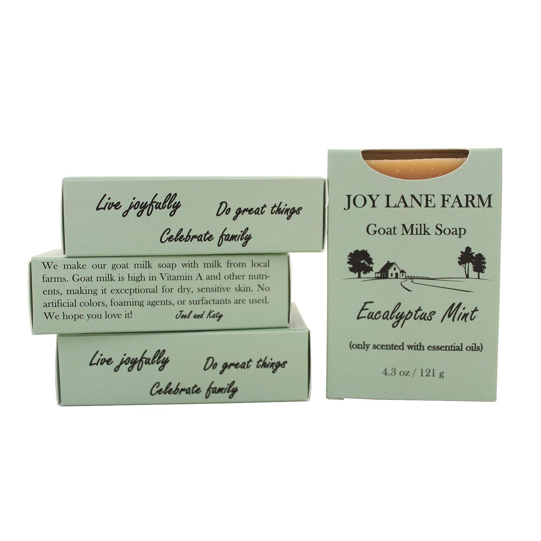 Joy Lane Farm - Goat Milk Soap (Eucalyptus Mint)