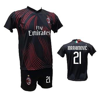 DND DAndolfo Ciro - Camiseta de fútbol Milan Terza Zlatan ...