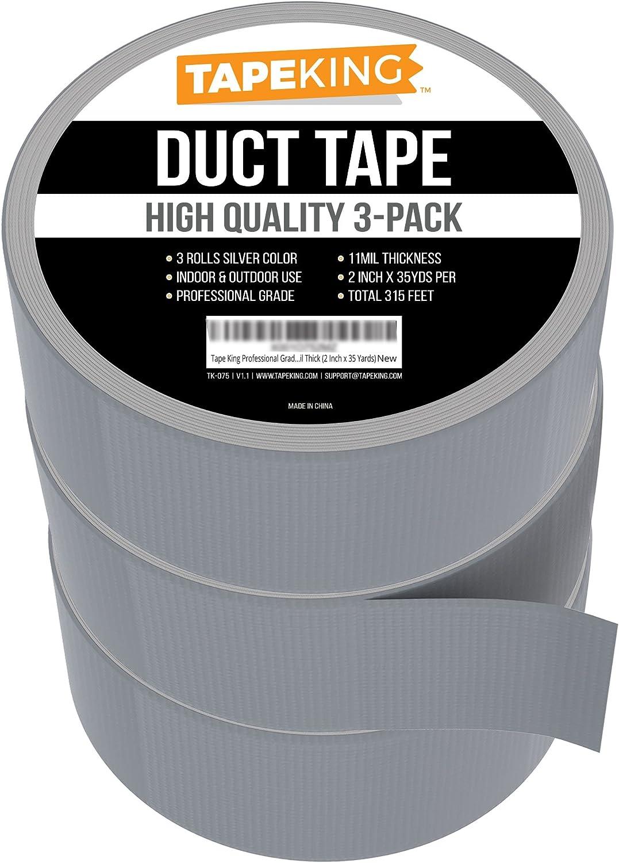 Amazon.com: King grado profesional cinta adhesiva (, 3 ...