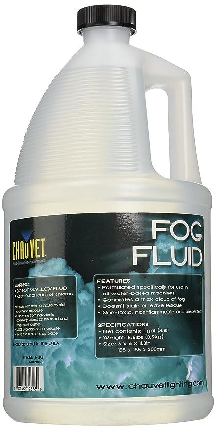 1 Gallon Fog Machines Chauvet Dj Fj-u Fog Machine Fluid