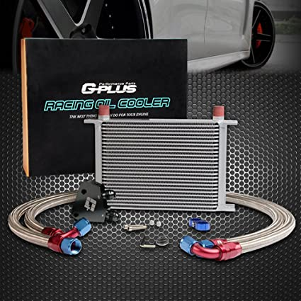 Amazon com: 25 Row Engine Transmisson Oil Cooler Kit Oil