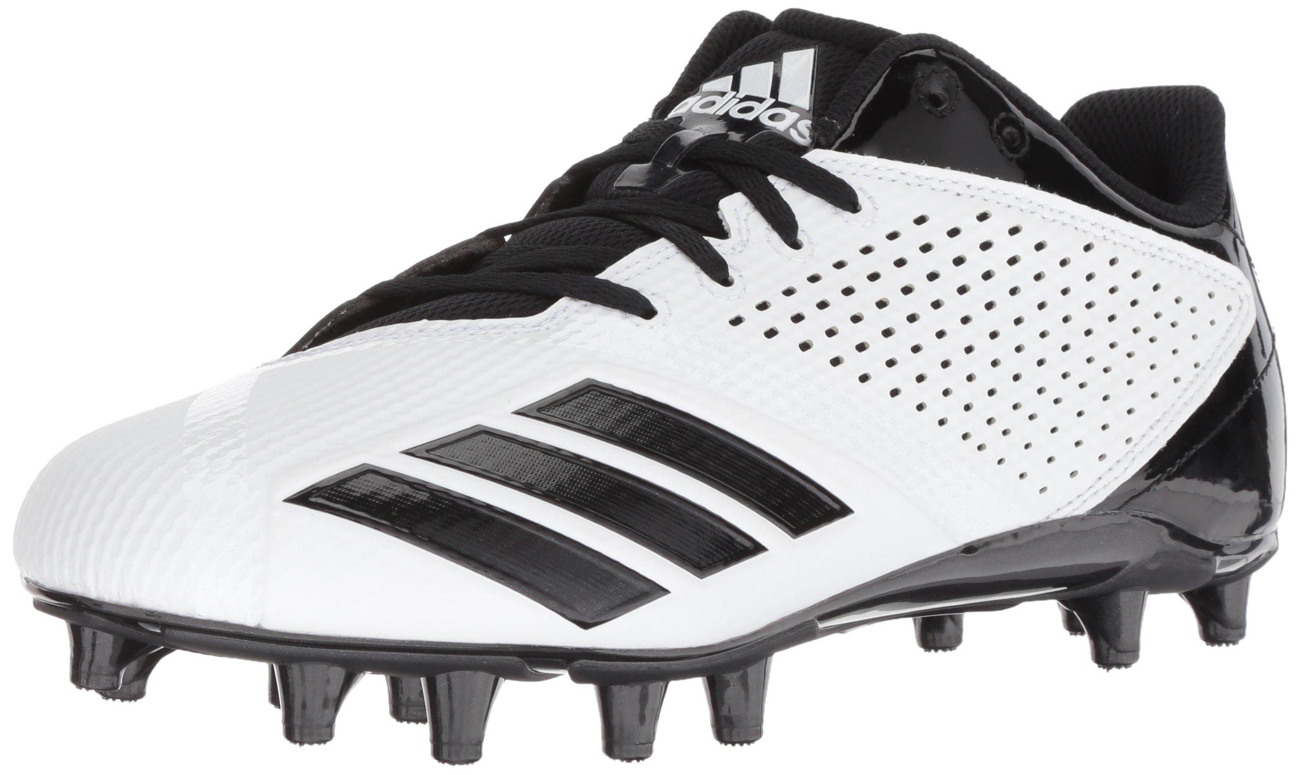 pretty nice be7be 86817 Galleon - Adidas Mens Freak X Carbon Mid Football Shoe, White Black, 9 M US