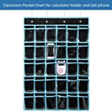 Pocket Chart Hanging Organizer,KEEPJOY Cell