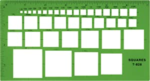 Westcott Technical Squares Drawing Template (T-828)