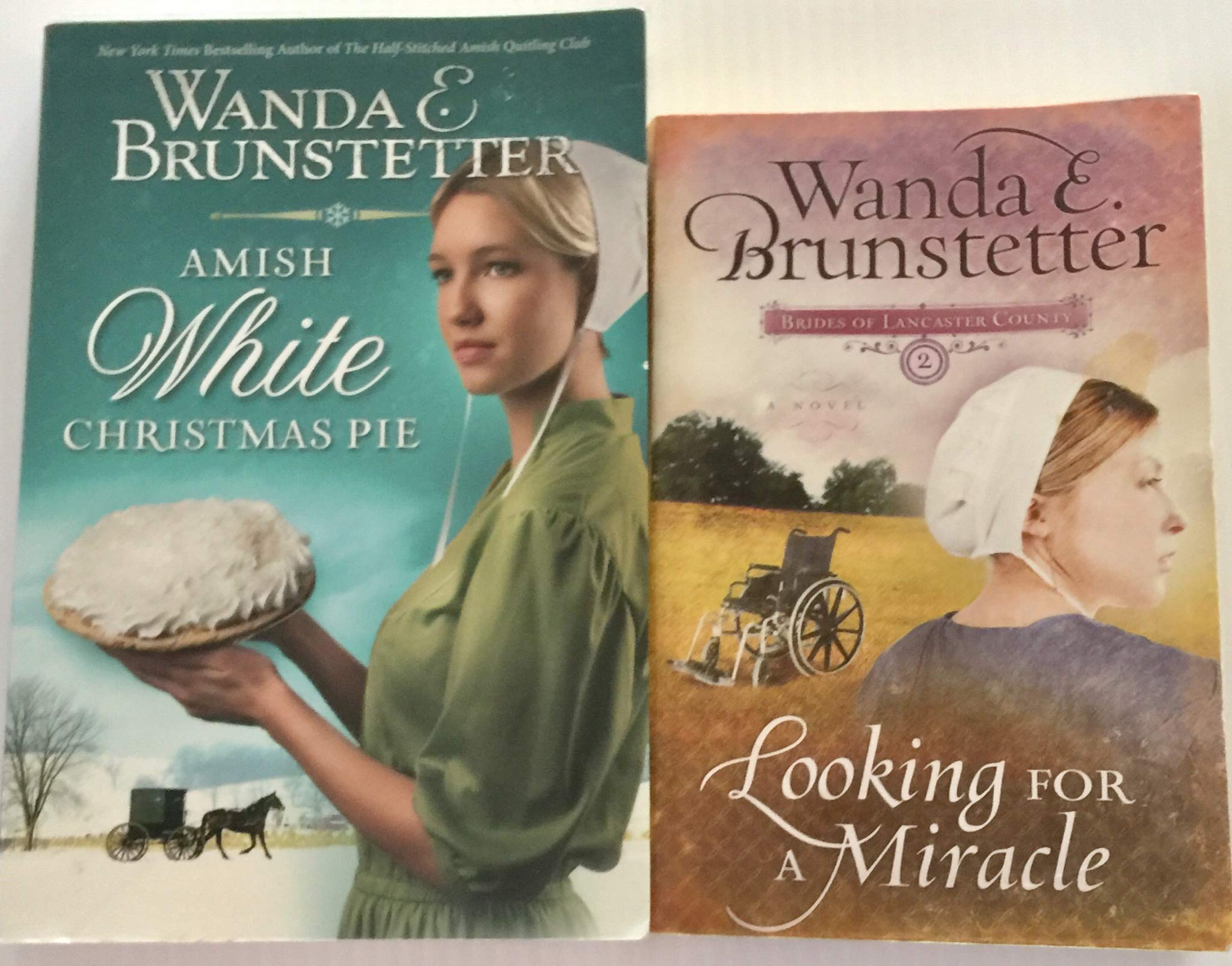 White Christmas Pie.2 Books 1 Amish White Christmas Pie 2 Looking For A