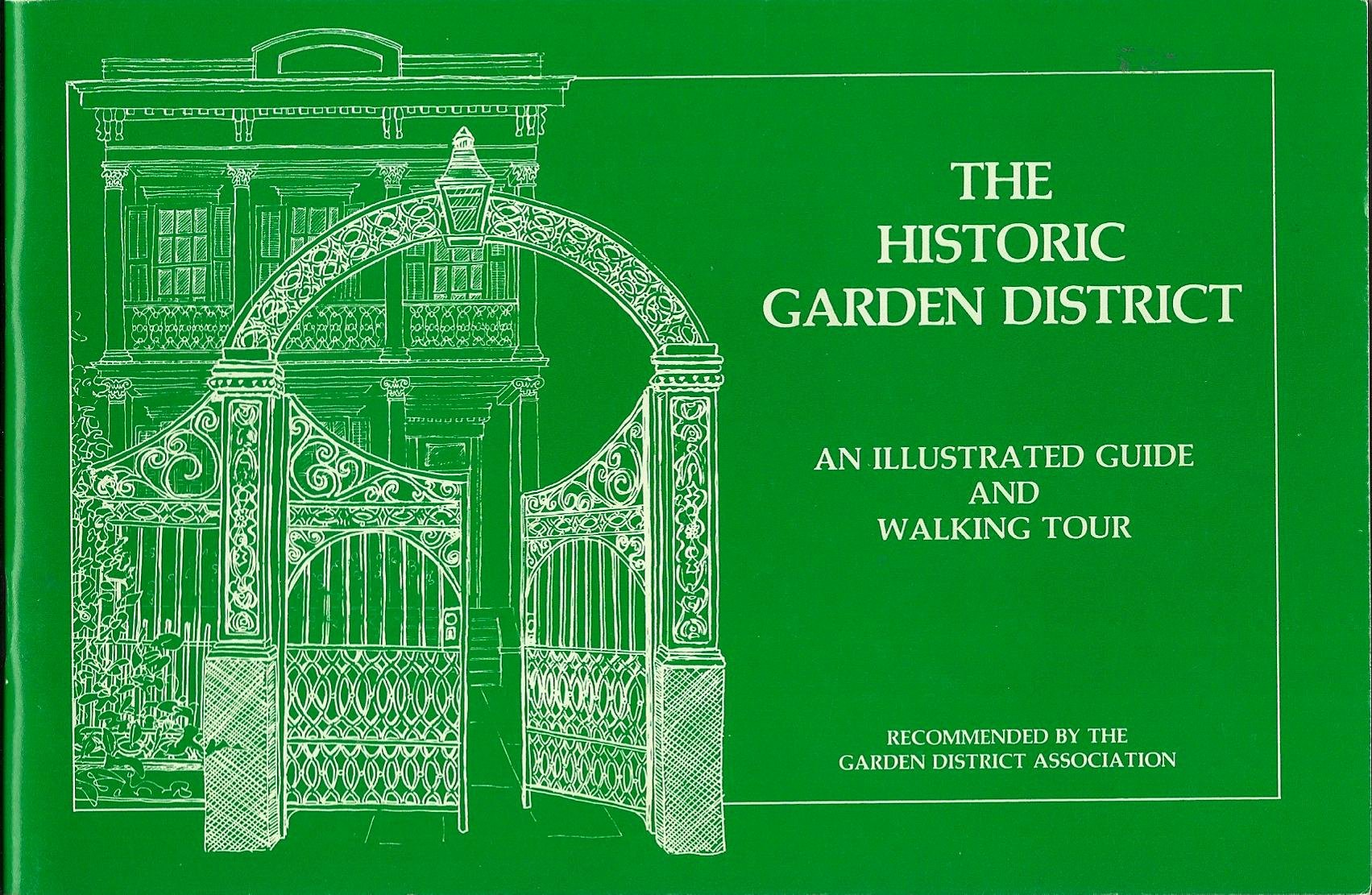 the historic garden district an illustrated guide and walking tour isabel and cindy schoenberger sanders amazoncom books - Garden District Walking Tour