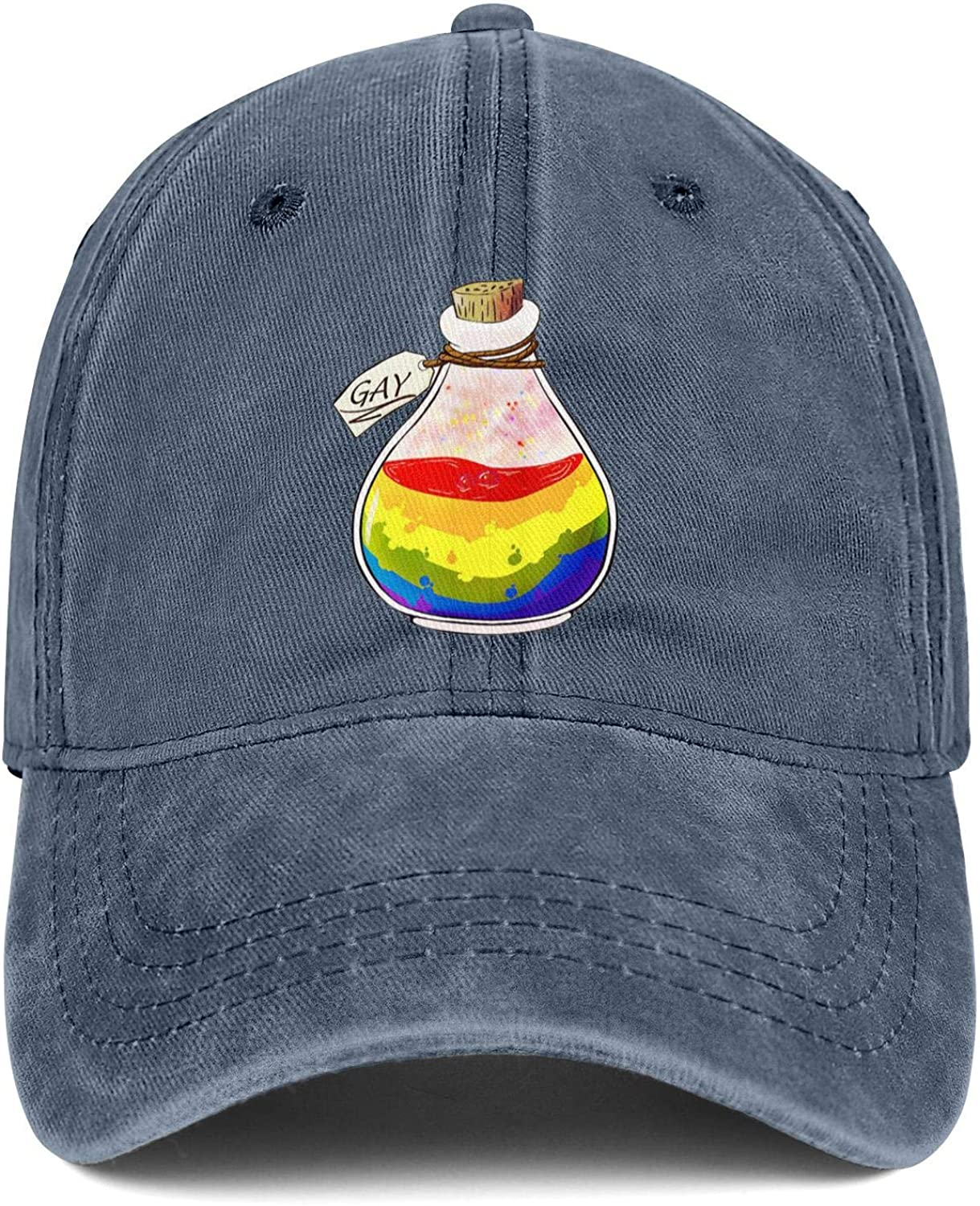 VINUCY Snapback Caps for Mens Making America Gay Again Adjustable Winter Mesh Hats