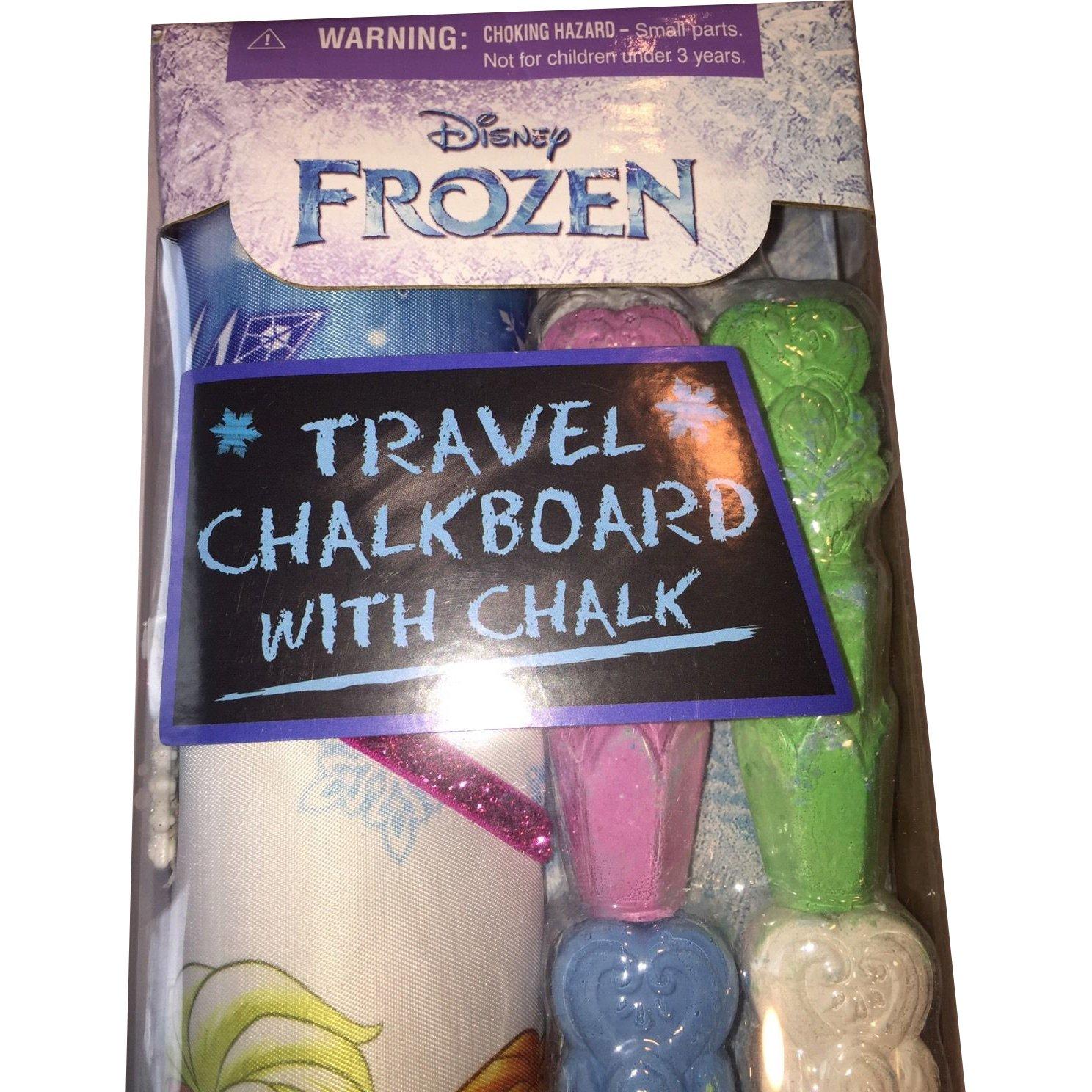 Disneys Frozen Travel Roll-Up Chalkboard Tara